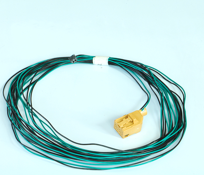 Car lighting system wire harness